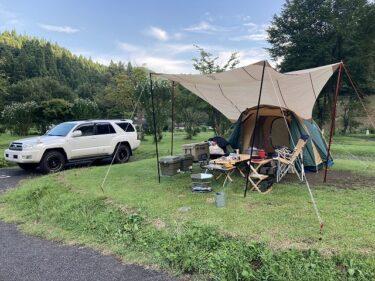 キャンプ場で効率よくテントサイト設営する際の5つの手順